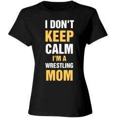 Wrestling mom shirt