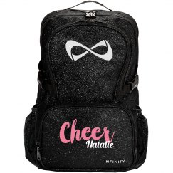 Sparkly Cheer Bag With Custom Name