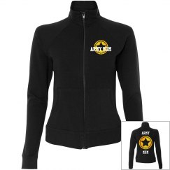 Army Mom Jacket Front and Back