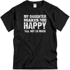 Daughter makes me happy