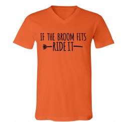 Broom Halloween Tshirt
