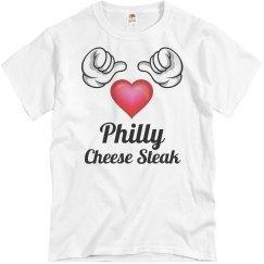 I love Philly Cheesesteak