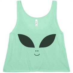 Alien Face Crop