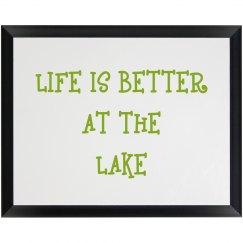 LAKE PLAQUE