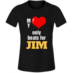 Heart beats for Jim