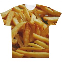 French Fries Junk Food Pattern