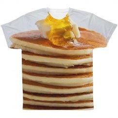 Breakfast Foods Pancake Stack