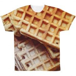 Brunch & Breakfast Waffle Print