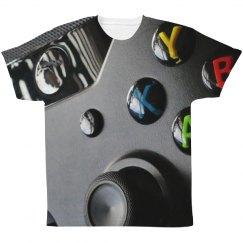 Video Gamer Nerd Controller Print