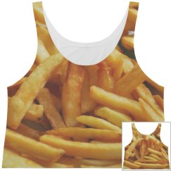 Fries All Over Print BFF Crop Top