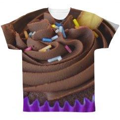Cupcake With Sprinkles Junk Food