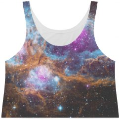 Vintage Galaxy Space All Over Print