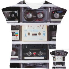 Retro Cassettes Women's Shirt