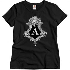 Goth Initial A
