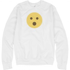 Face with Open Mouth Sweatshirt