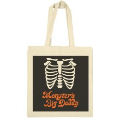 Monster's Big Daddy Skull Tote