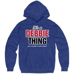 It's a Debbie thing