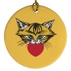 Tiger Love Ornament