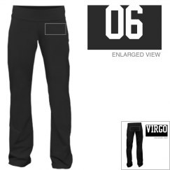 Virgo Sporty Zodiac Yoga Pants