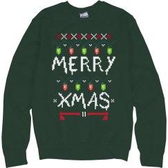 One Strange Xmas Sweater