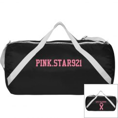 Pink.Star921 Softball bag