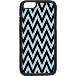 Blue Black Chevron