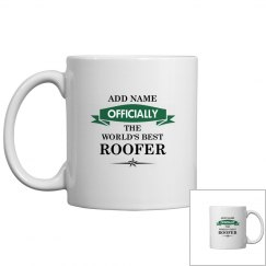 World's best Roofer Mug