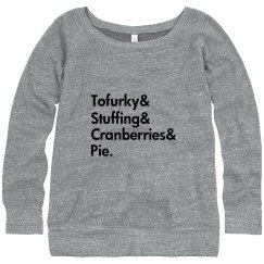 A Tofurky Thanksgiving