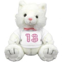 13th Birthday Plush Teddy