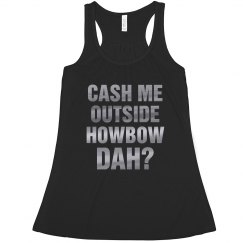 Metallic Text Howbow Dah Party