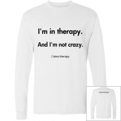 I'm in therapy UNISEX LONGSLEEVE