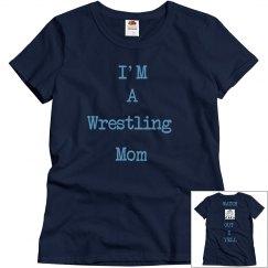 wrestling shirt for moms