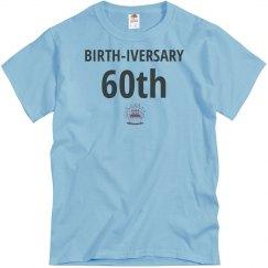 60th birth-iversary