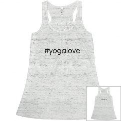 Hashtag Yoga Love Tank