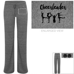 Cheer sweat pants