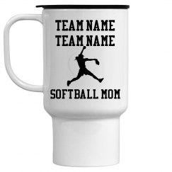 Softball Mom Mug (Pitcher)