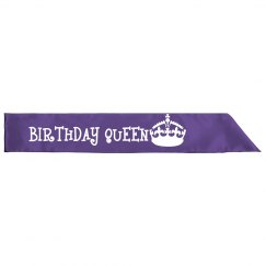 Birthday Queen Sash