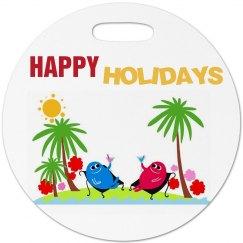 Happy Holidays Luggage
