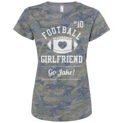 Heart Football Girlfriend
