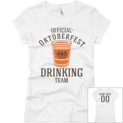 Oktoberfest Drink Team