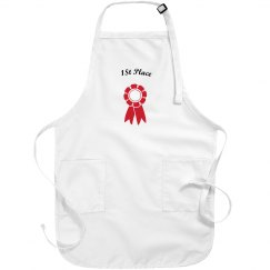 1st place adult apron