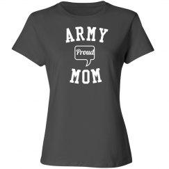 Proud army mom