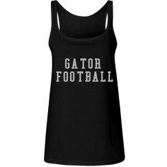 Gator Football Bling Tank