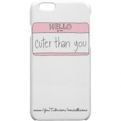 Name Tag iPhone 5 Case