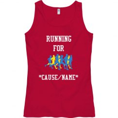 """Running for """"cause here"""""""