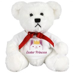 Cute Easter Baby Girl Bear Gift