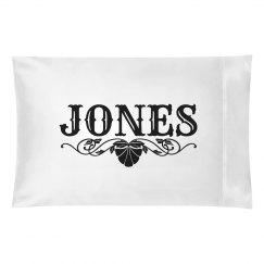 JONES. Pillow case