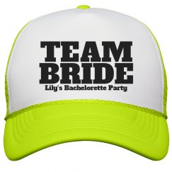 Bride bachelorette party