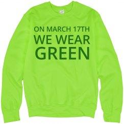 We Wear Green