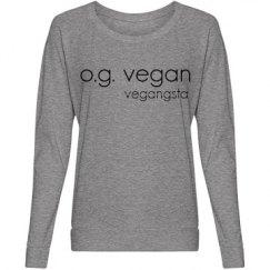 og vegan slouchy top